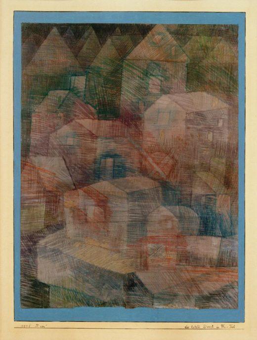 """Paul Klee """"Das letzte Dorf im Ph"""