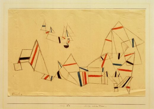 "Paul Klee ""Schiffe nach dem Sturm"" 33 x 21 cm 1"