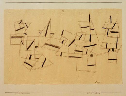 "Paul Klee ""Riff-Schiff"" 33 x 21 cm 1"