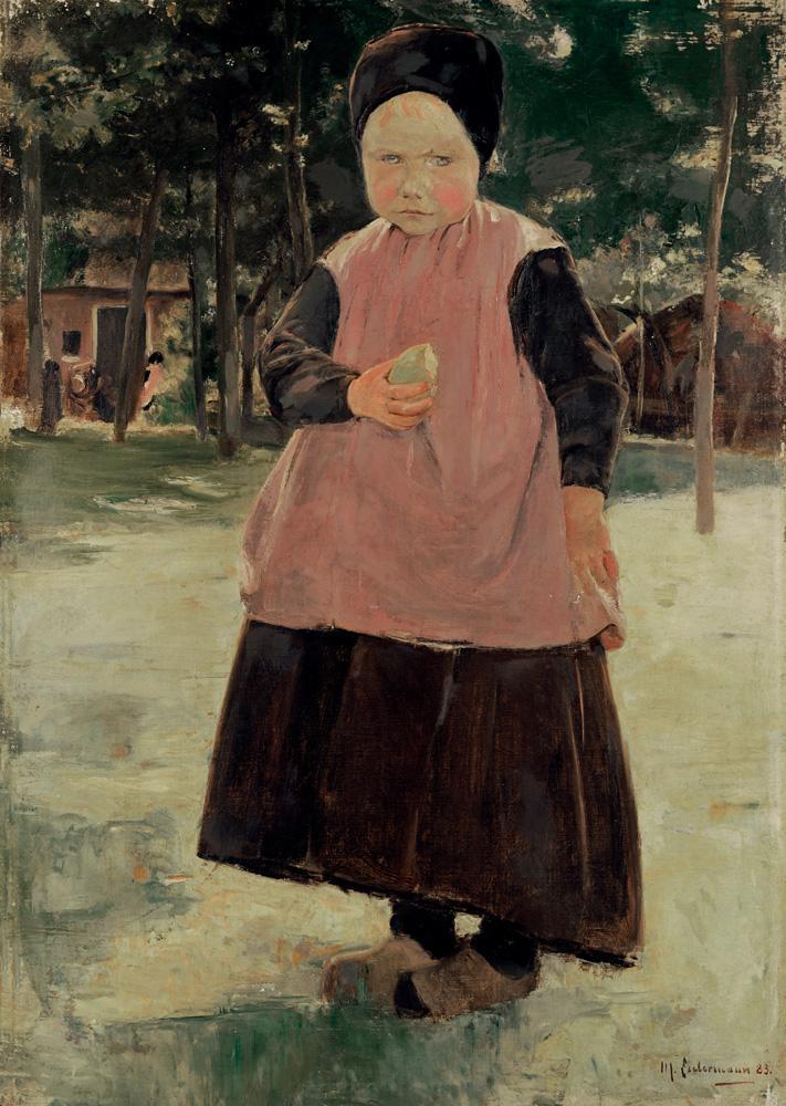 """Max Liebermann """"Eva"""" 67 x 95 cm"""