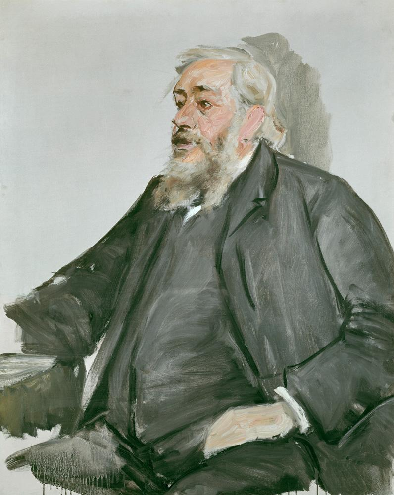 """Max Liebermann """"Prof. Justus Brinckmann"""" 80 x 100 cm"""