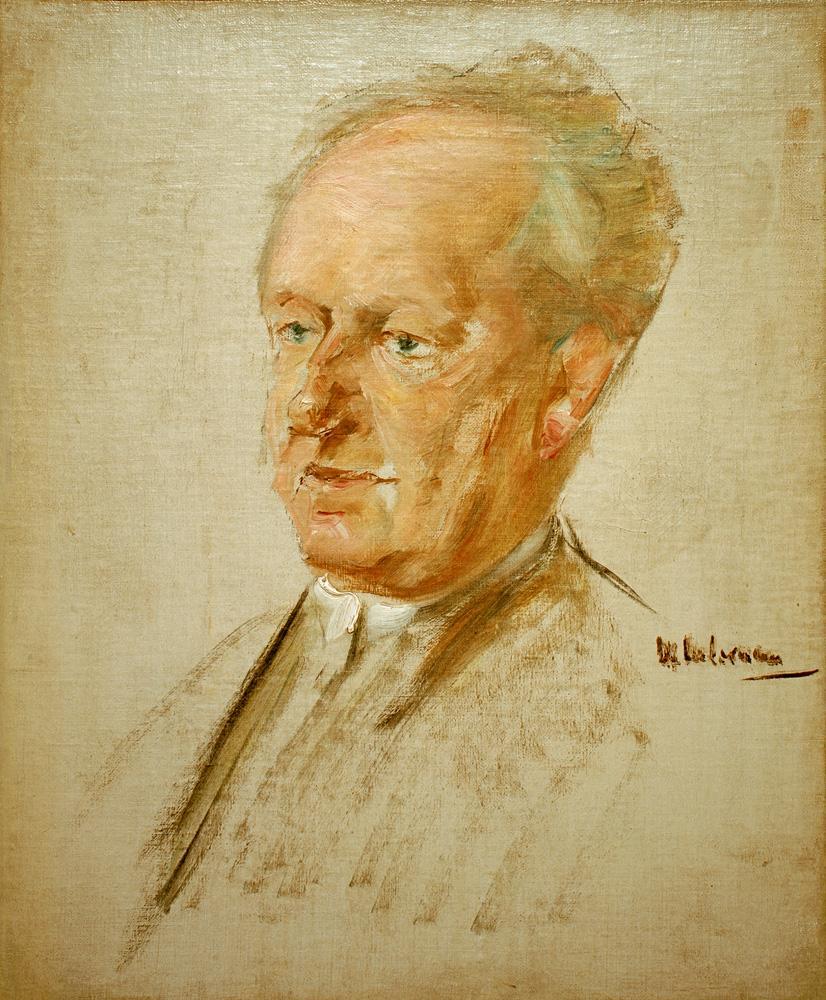 """Max Liebermann """"Porträt Gerhart Hauptmann"""" 45 x 55 cm"""