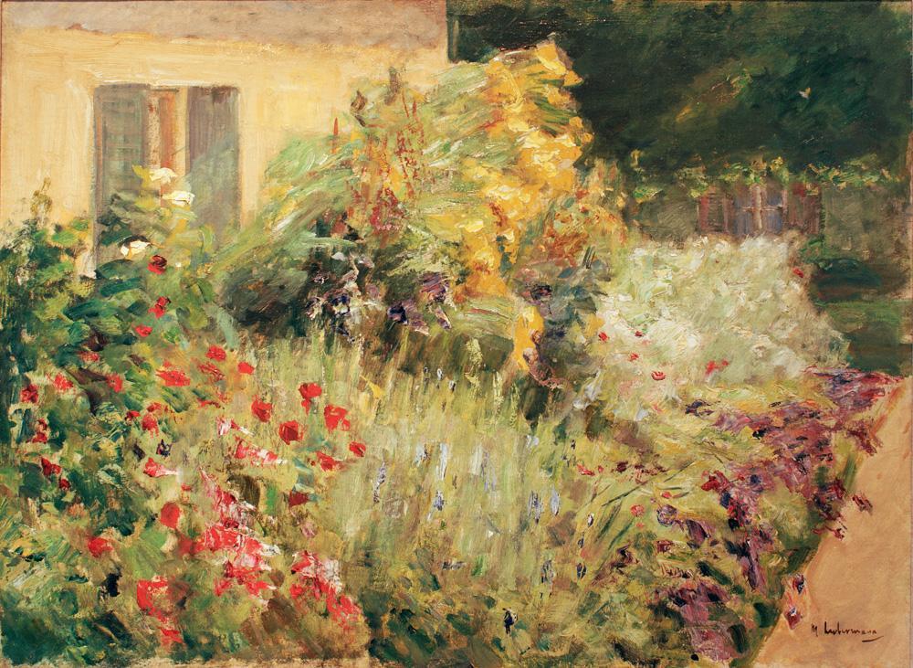 """Max Liebermann """"Wannseegarten"""" 75 x 55 cm"""